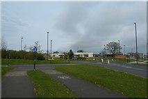 SE6350 : Field Lane roundabout by DS Pugh