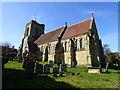 TQ5541 : St Mary's Church in Speldhurst, Kent by John P Reeves