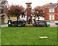 SX9372 : West side of Shaldon War Memorial by Jaggery