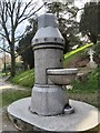TQ5840 : Marble Drinking Fountain by John P Reeves