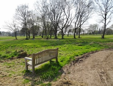 SO9094 : Penn Common Bench View by Gordon Griffiths