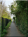 SE3027 : Public footpath in Middleton by Stephen Craven