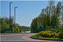 ST0207 : Cullompton : Station Road B3181 by Lewis Clarke