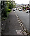 ST3190 : Pavement on the east side of Brynglas Road, Newport by Jaggery