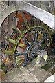 SK2999 : Wortley Top Forge - waterwheel by Chris Allen