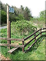 NZ3273 : Public Footpath Sign and Stile near the Beehive Inn, Whitley Bay by Geoff Holland