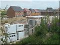 SE3422 : Construction site, off Neil Fox Way by Christine Johnstone