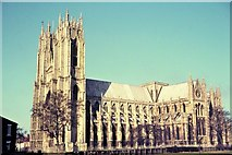 TA0339 : Beverley Minster by Late Dr P Clements