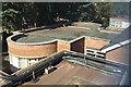 SP2865 : Roofs on the southwest side of Warwick Hospital by Robin Stott