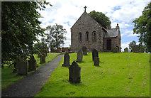 NY3459 : St. Mary's Church, Beaumont by habiloid