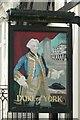 TQ5838 : Duke of York Pub Sign in Tunbridge Wells, Kent by John P Reeves