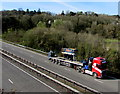 ST3190 : Siltbuster equipment in transit on the A4042, Malpas, Newport by Jaggery