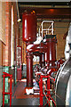 SJ8333 : Mill Meece Pumping station - force pumps by Chris Allen