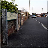 SZ0795 : Northbourne: Alderley Road by Chris Downer