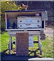 SE1821 : An egg stall on Hartshead Hall Lane by habiloid