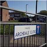 SZ0794 : Ensbury Park: Archdale Close by Chris Downer