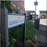 SZ0794 : Ensbury Park: Ashburton Gardens by Chris Downer
