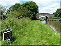 SJ7128 : Shropshire Union Canal milepost at Little Soudley by Mat Fascione