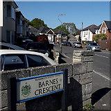 SZ0795 : Ensbury Park: Barnes Crescent by Chris Downer