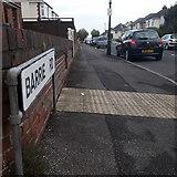 SZ0895 : Moordown: Barrie Road by Chris Downer
