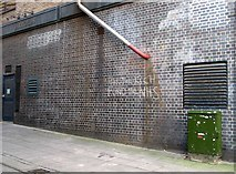 TG2308 : Graffiti in Little London Lane by Evelyn Simak