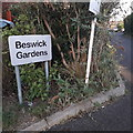 SZ0894 : Ensbury Park: Beswick Gardens by Chris Downer