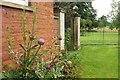 SO5476 : Southern corner of stables, Henley Hall by Derek Harper