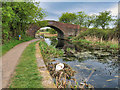 SD7908 : Swan and Bridge, Manchester, Bolton and Bury Canal by David Dixon