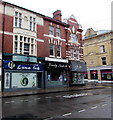 ST3187 : Luna Ink closed until further notice, Newport city centre by Jaggery