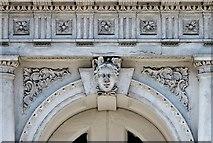 TG2309 : 44 Magdalen Street (entrance doorway detail) by Evelyn Simak