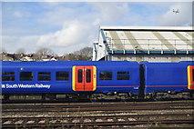 TQ2571 : Wimbledon Traincare Depot by N Chadwick