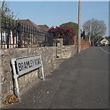 SZ0796 : Kinson: Bramley Road by Chris Downer