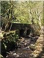 SK3083 : Footbridge over Limb Brook by Graham Hogg