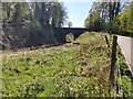 TQ5538 : Road Bridge over a Railway by John P Reeves