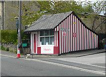 SE1225 : Rachel's hairdresser's, Wakefield Road, Hipperholme by Humphrey Bolton