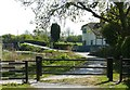 SK6336 : Grantham Canal at Skinner's Lock by Alan Murray-Rust