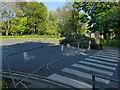 SE2536 : Closed car park, Abbey House Museum by Stephen Craven