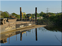 SE2535 : Construction of Kirkstall fish pass (2) by Stephen Craven
