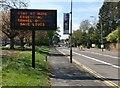 SK5701 : Matrix sign along Aylestone Road by Mat Fascione
