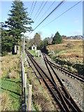 SH6742 : Dduallt Station by Keith Evans