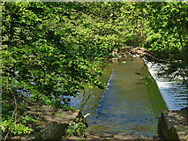 SE2635 : Kirkstall Valley Nature Reserve: the old ford by Stephen Craven