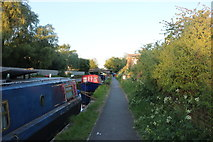 TQ1983 : The Grand Union Canal, Park Royal by David Howard
