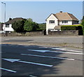 ST3090 : White arrows and white houses, Malpas Road, Newport by Jaggery