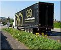 ST3090 : United Worldwide Logistics lorry, Malpas, Newport by Jaggery