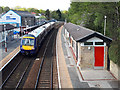 SE2439 : York train calling at Horsforth by Stephen Craven