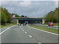 NZ3037 : Northbound A1(M), Bridge at Bowburn Junction by David Dixon