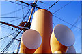 SU6200 : HMS Warrior, Portsmouth - funnels by Colin Park