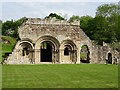 SJ5415 : Haughmond Abbey by Philip Halling
