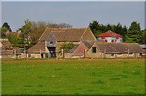 ST8080 : Stone Barn & Sheds, Hollybush Farm, Acton Turville, Gloucestershire 2020 by Ray Bird