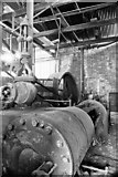 SK0305 : Potters Clay & Coal Co, Brownhills - steam engine by Chris Allen